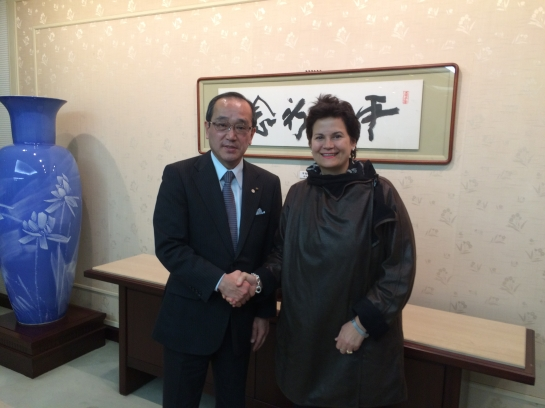 Hiroshima Mayor and I .jpg