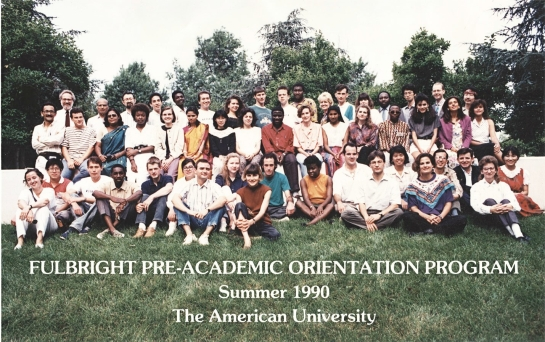 Fulbright Orientation Program at AU 1990.jpg